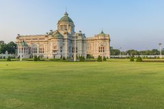 Ananta Samakhom Throne Hall is a royal reception hall within Dus. It Palace in Bangkok, Thailand Stock Photo