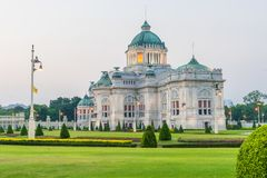Ananta Samakhom Throne Hall is a royal reception hall within Dusit Palace in Bangkok. Thailand Royalty Free Stock Images