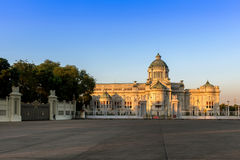 Ananta  samakhom Throne Hall during sundown in Bangkok. Stock Images