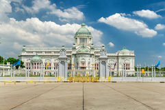 The Ananta Samakhom throne hall in thailand Royalty Free Stock Photo