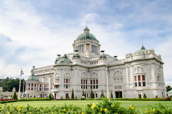 Ananta Samakhom Throne Hall, Thailand. The Ananta Samakhom Throne Hall is a former reception hall within Dusit Palace in Bangkok, Thailand. It now serves as a Royalty Free Stock Photos