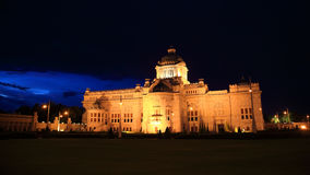 The Ananta Samakhom throne hall at twilight in thailand Stock Photo