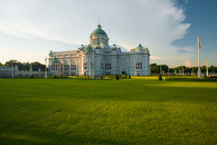 Ananta Samakhom Throne Hall Yard H Royalty Free Stock Photo