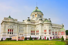Ananta Samakhom Tronowy Hall, Tajlandia zdjęcia royalty free