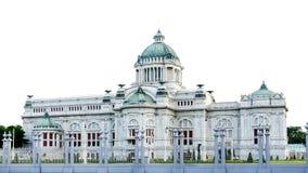Ananta Samakhom Tronowy Hall, Tajlandzki Królewski Dusit pałac Obrazy Stock