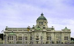 Ananta Samakom Throne Hall in Bangkok Royalty Free Stock Photos