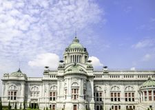 Ananta Samakom Throne Hall in Bangkok Royalty Free Stock Image