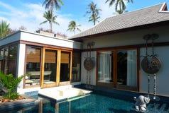 Anantara Phuket villahotell i Thailand Fotografering för Bildbyråer