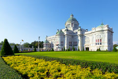 Anantasamakhom  Throne Hall. Anantasamakhom Throne Hall in Bangkok against clear blue sky, Thailand national museum open for public tourist visit Stock Image