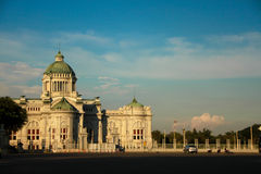 Anantasamakom Throne Hall,Bangkok. This Hall made in The reign of King Rama 5 this building made from marble stone from Italy Royalty Free Stock Images