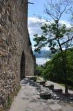 Ananuri堡垒 库存图片