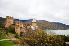 Ananuri castle Royalty Free Stock Photo