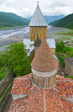 Ananuri castle Stock Images
