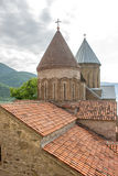 Ananuri Castle, a castle complex on the Aragvi River in Georgia.  Royalty Free Stock Photography