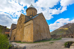 Ananuri castle complex on the Aragvi River in Georgia. Ananuri church on the Aragvi River in Georgia, Europe Stock Image