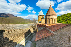 Ananuri castle complex on the Aragvi River in Georgia. Europe Stock Image