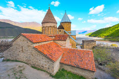 Ananuri castle complex on the Aragvi River in Georgia. Europe Royalty Free Stock Image