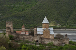 Ananuri Castle. Georgia Royalty Free Stock Image