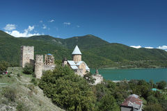Ananuri castle Stock Photography