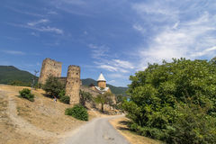 Ananuri church and castle, Georgia Stock Images