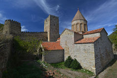 Ananuri church and fortress Royalty Free Stock Photo