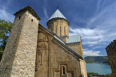 Ananuri church and tower Stock Photo