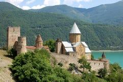 Ananuri Festung Lizenzfreie Stockbilder
