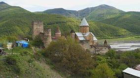 Ananuri Festung, Georgia stock footage