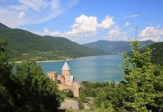 Ananuri fortress (Georgia) Stock Image
