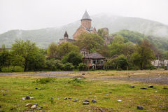 Ananuri fortress in Georgia Royalty Free Stock Images