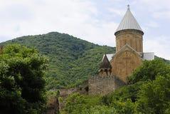 Ananuri fortress. An old georgian fortress Ananuri Royalty Free Stock Photography