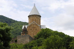 Ananuri fortress. An old georgian fortress Ananuri Royalty Free Stock Photos