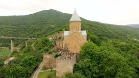 Ananuri Geórgia do castelo vídeos de arquivo