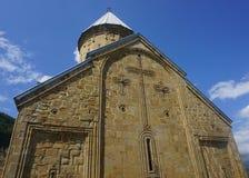 Ananuri klostersikt arkivfoto