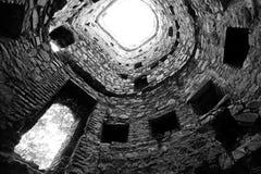 Ananuri klostertorn Royaltyfri Fotografi