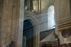 ananuri kyrkliga georgia Royaltyfri Foto