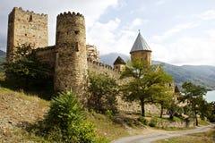 Ananuri Monastery. Exterior, shot in Georgia royalty free stock image