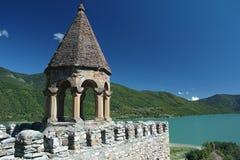 Ananuri-Schloss Stockbild