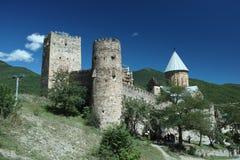 Ananuri slott Arkivbild