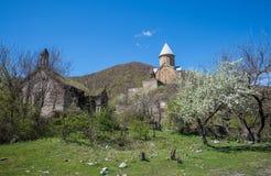 Ananuri slott Arkivfoto