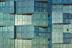 Anapa, Krasnodar region Rosja, Marzec, - 03 2017: oryginalna fasada luksusowy mieszkaniowy kompleks Fotografia Stock