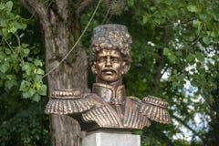 Anapa, Rusia - pueden 5, 2019: Monumento a Ataman Alexey Danilovich Beskrovny en Anapa, Rusia fotografía de archivo