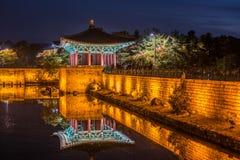 Anapje-Teich - Cheongju Korea Lizenzfreie Stockbilder