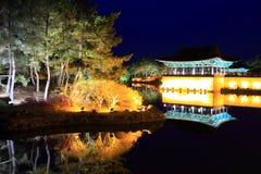 Anapji Pond, Gyeongju, South Korea Stock Image