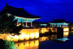 Anapji Pond, Gyeongju, South Korea Royalty Free Stock Images