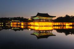 Anapji Pond, Gyeongju, Korea - Series 3 Stock Photo