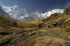 Anapurna base camp Stock Photos