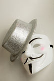 Anarchist Mask Stock Photo
