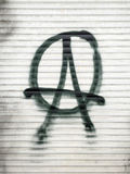 Anarchist Symbol Royalty Free Stock Images
