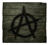 Anarchy symbol Royalty Free Stock Photo